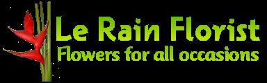 Le RainFlorist Logo